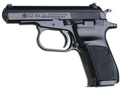 CZ 83 – commercial version of the CZ 82 in ACP) Another variation of with reshaped trigger guard diagram Type: Double Action Caliber mm Makarov, mm mm Overall length 172 mm Weight 920 g loaded Barrel length 96 mm Magazine capacity 12 rounds 15 rounds . Para Ordnance, 32 Acp, Ghost Soldiers, Pocket Pistol, Tac Gear, Military Weapons, Guns And Ammo, Self Defense, Tactical Gear