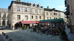 The old city of Limoges - an hour south