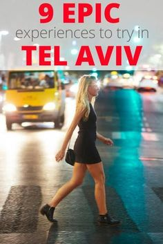 Tel Aviv is an epic and vibrant city. Here are 9 experiences in Tel Aviv that I will always remember and made my time there so unbelievable.: