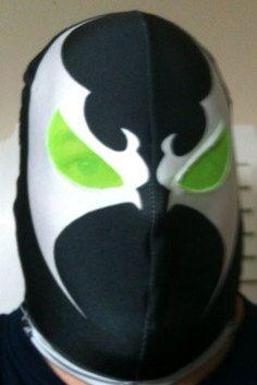 Spawn Dye Sublimated mask on Etsy, $50.00