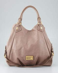 MARC by Marc Jacobs - Classic Q Francesca Calfskin Tote Bag, Brown