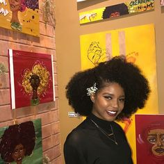 Thank you friends/fam who came to the show🌹 I'm so happy I finally got a chance to display my art! I'm feeling very full, and grateful✨ my lil happy corner I'm a Arteest💁🏾✨ & congrats @josie__who on putting together an amazing peace gathering art event❣