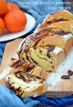 Gluten-free cake with orange Sin Gluten, Gluten Free, Chocolate Babka, Chocolate Orange, Babka Cake, Braided Bread, Sweet Bread, Pain, Vegan Vegetarian