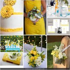 Inspirational Wedding Ideas #113: Yellow Passion