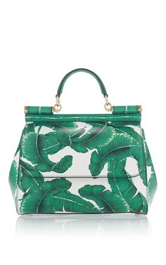 ec824cb7536e Dauphine Medium Palm Bag by DOLCE   GABBANA Now Available on Moda Operandi  Green Handbag