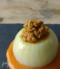 Cebollas rellenas - foodie&chef