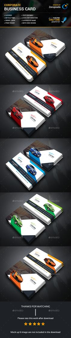 Rent Car Business Card - #Business Cards Print Templates Download here: https://graphicriver.net/item/rent-car-business-card/17298440?ref=classicdesignp