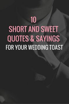 quotes for wedding toast