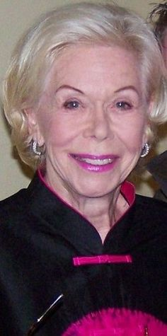 Louise Hay is an American business woman, author, motivational teacher, speaker, publisher and founder of the publishing company Hay House. She...