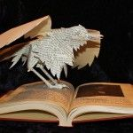 """""""El cuervo [Edgar Allan Poe]"""", escultora Jodi Harvey-Brown"""