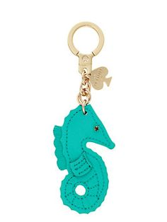 kate spade key fobs seahorse keychain by kate spade new york