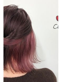 Hidden Hair Color, Brown Bob Hair, Color Fantasia, Hair Streaks, Chocolate Hair, Aesthetic Hair, Coloured Hair, Bleached Hair, Pink Hair