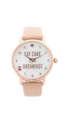 Kate Spade New York Metro Eat Cake for Breakfest Watch 175