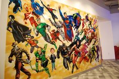 Dream job here : DC Entertainment's Burbank Office Tour - Comic Vine