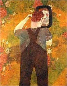 """Vanity"" by Ben Shahn , Lithuanian-born American artist"