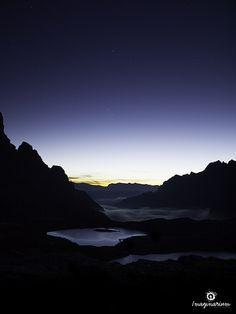 Le ultime stelle del mattino #photography #mountains #landscape #Italy @Dolomiti