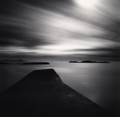 Moving Clouds, Grip Island, Kristiansund, Norway, 2008  by Michael Kenna