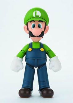 #SuperMario S.H.Figuarts - Luigi Action Figure - Midtown Comics