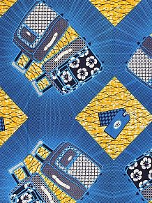 Empire Textiles African Wax Prints - Premium Holland Wax Premium Hollandais PRICE - £18.00