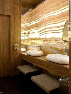 Banheiro Público Unisex I Arquiteto: Marco Portes e Cida Portes