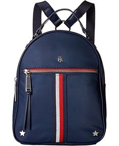 Tommy hilfiger th sport core plus backpack Mini Backpack Purse, Backpack Outfit, Fashion Backpack, Tommy Hilfiger Outfit, Tommy Hilfiger Handbags, Mochila Tommy, Mini Mochila, Cute Bags, Casual Bags