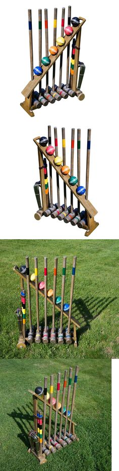 Croquet 117210: Franklin Sports Vintage Complete Croquet Set Wood Mallet Heads Port. Balls Game -> BUY IT NOW ONLY: $169.97 on eBay!