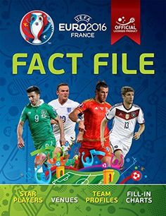 UEFA EURO 2016 Fact File - Official licensed product of UEFA EURO 2016 $37.95 #PYB https://t.co/HpaTo8fBcD https://t.co/wHKG3KsCJD