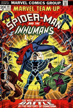 Marvel Team-up n°11, July 1973, cover by John Romita