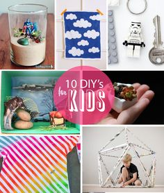 10 Great DIY Craft Projects for Kids!