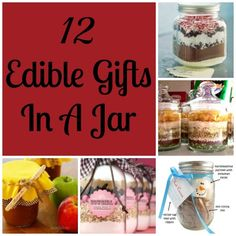 Edible Gifts In A Jar {12 Gift Ideas!}