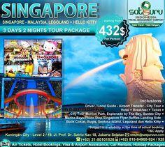 Satguru Indonesia - Travel Management Company, 4 : Hello travelers, satu lagi kesempatan liburan dengan paket yang menarik ke Singapore-Malaysia bersama kami  mengunjungi beberapa lokasi wisata berpetualang dan menikmati hiburan di Legoland dan Hello Kitty dengan harga terjangkau dan kenyamanan bersama keluarga. 👉Hubungi kami dan pesan sekarang juga! *harga sewaktu-waktu bisa berubah. -------------------------- 💳Dapatkan diskon dan promo khusus lainnya di bulan ini…