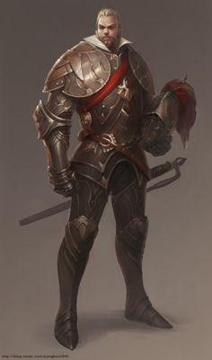 ArtStation - 연습, K ei Character Design Sketches, Fantasy Character Design, Character Concept, Character Art, Concept Art, Character Profile, Fantasy Art Men, Fantasy Armor, Fantasy World