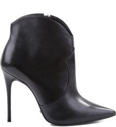 c4cbbfe17 Strech Boot Black | Schutz. Botinha Cano Curto PretaSapatos SchutzBotas ...