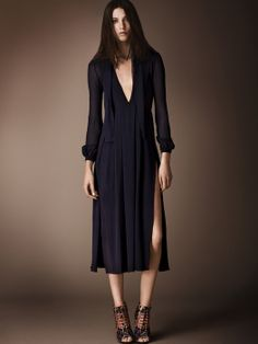 Again Burberry. Love this dress, its elegant and really sexy too.