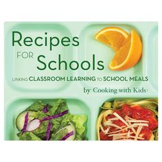 """Free """"Tasting Classes"""" lesson plans - what a great idea! Introduce your kids to new foods using all five senses."""