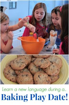 Fun and Easy Baking Play Date for Kids  #bakerspassport