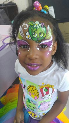 Shopkins face painting