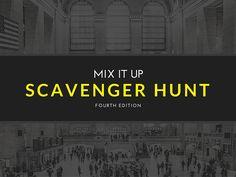 Mix It Up Scavenger Hunt #4