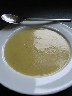 Trufla: Ziemniaki. Pory. Zupa-krem.