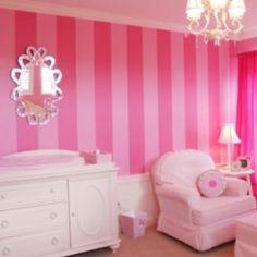 cute baby girls room!