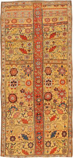 Antique Kurdish Bidjar Persian Sampler Rug 40485 Main Image - By Nazmiyal