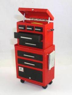 Artisan Miniature Garage Workshop Tool Chest Box (USE MICHAEL HUTCH?)