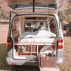caravan interior 300544975133868019 - Camping Bed Cushion Camping Bed Kids Source by delettedelette Bus Camper, Camper Life, Van Life, Kangoo Camper, Sprinter Camper, Kombi Home, Camper Van Conversion Diy, Van Interior, T4 Camper Interior Ideas
