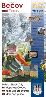Mapa a průvodce městem BEČOV NAD TEPLOU
