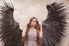 Dark Angel Wings, White Wings, Fairies, Angels, The Incredibles, Cosplay, Trending Outfits, Vintage, Etsy