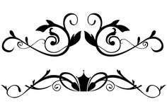 Vector Floral Ornamental Border Clip Art Clip art borders Free clip art Clip art