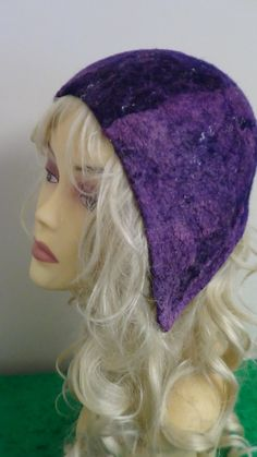 """Hat,Felted hat, Fairy, OOAK, Handmade, in USA, , Wearable art, Organic,women hat, art hat, felted art, Renaissance hat """"Wonderland """" by rafaelart on Etsy"""