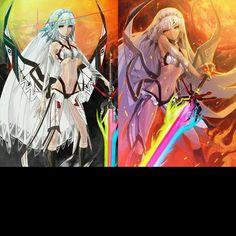 "Fate Grand order - Saber - Atilla the Hun  ye. another ""girl version/ genderbend"" just like King Arthur"
