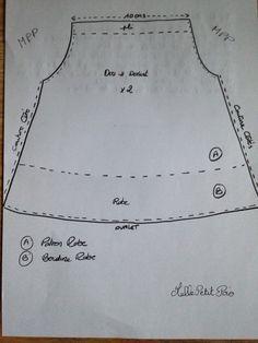 TUTO Robe Corolle simplissime... - Le blog de Mademoiselle Petit Pois