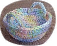Free Crochet Easter Basket Pattern – Crochet For Beginners Easter Crochet Patterns, Crochet Crafts, Crochet Projects, Crochet Ideas, Crochet Bowl, Love Crochet, Beautiful Crochet, Crochet Patron, Crochet For Beginners